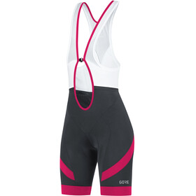 GORE WEAR C5 Bib Tights short Women black/jazzy pink